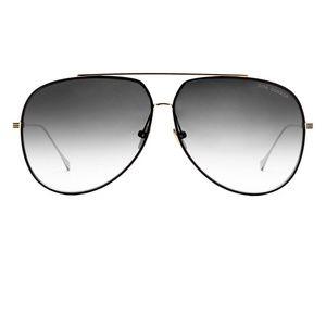 87439d09af74 DITA Accessories - Dita Condor Aviator Sunglasses (21005D - Black)